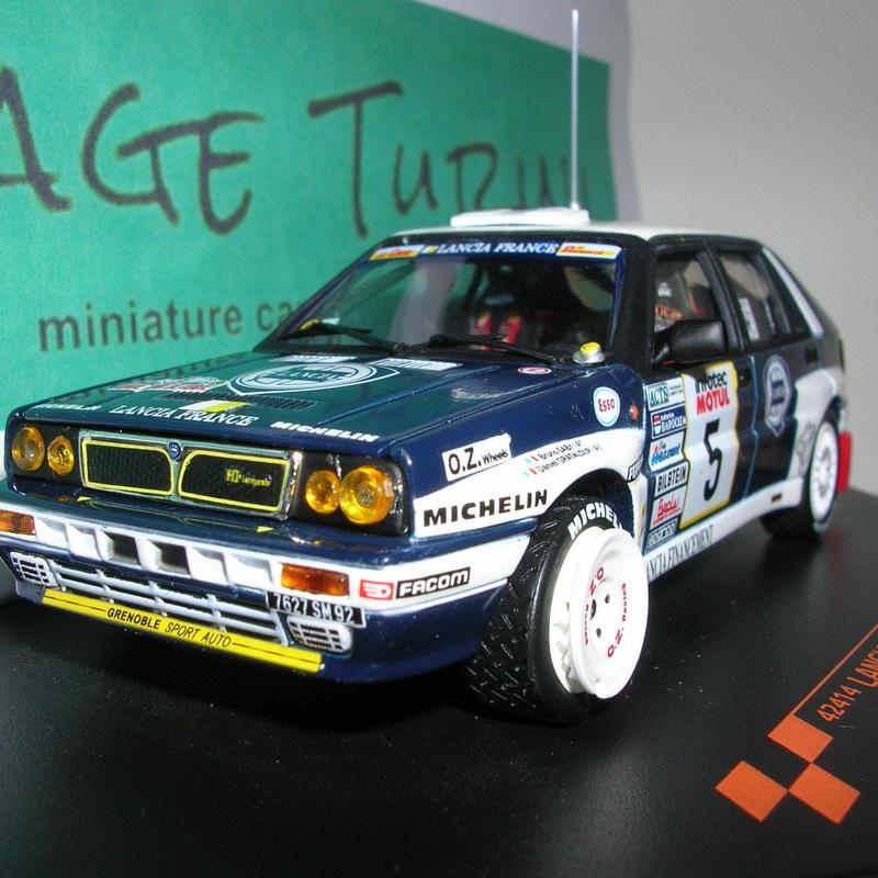 ビテス ランチア デルタ HF インテグラーレ (#5) ツールド・コルス 1989年