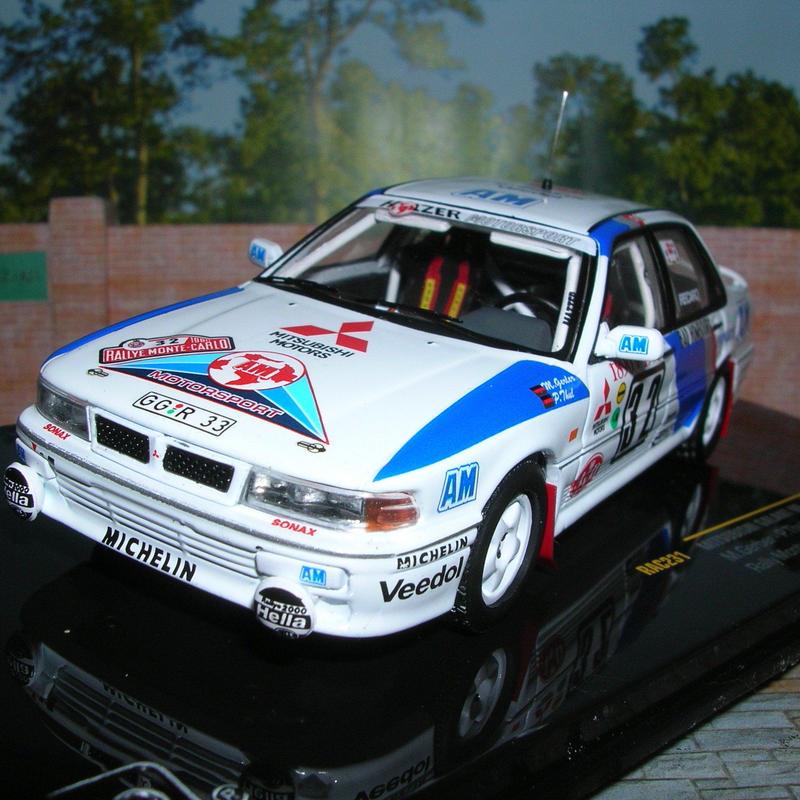 イクソ モデル 三菱 ギャラン VR-4 EVO (#32)ラリー モンテカルロ 1990年