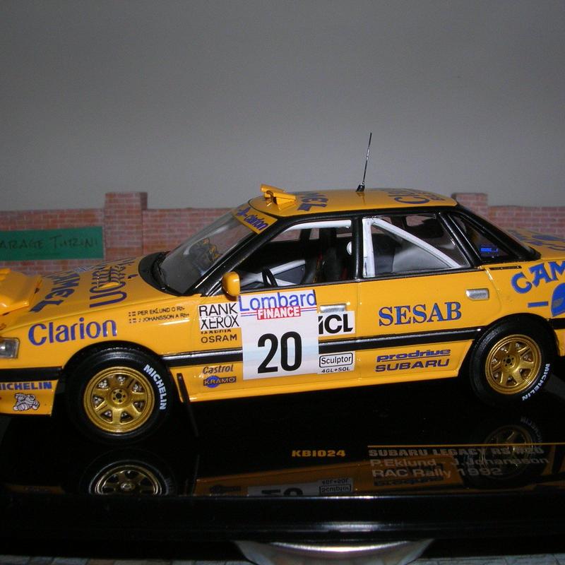 スバル レガシー RS(#20)RAC ラリー (イギリス) 1992年
