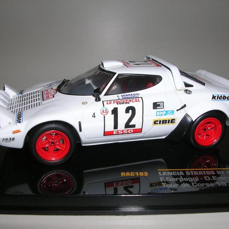 ixo ランチア ストラトス HF (#12) ツールド・コルス 1979