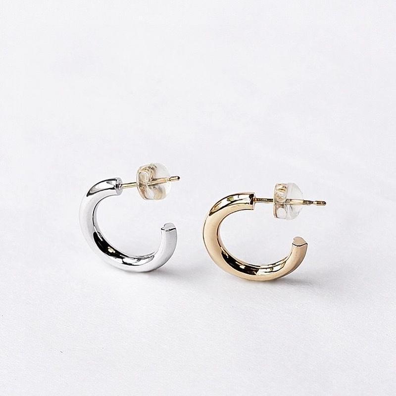 Heart Hoop pierce