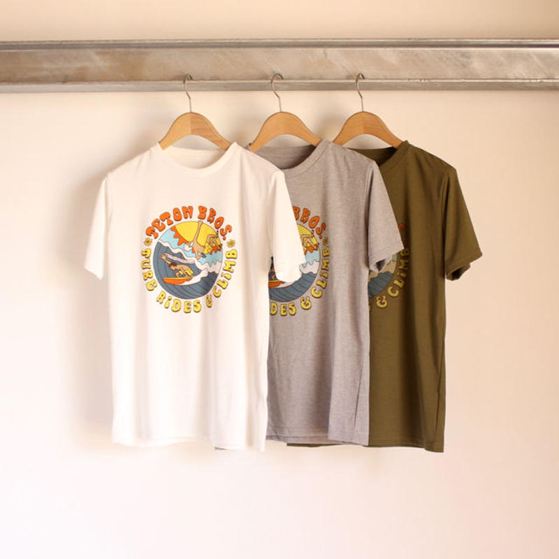 Teton Bros  Surf and Climb Tee