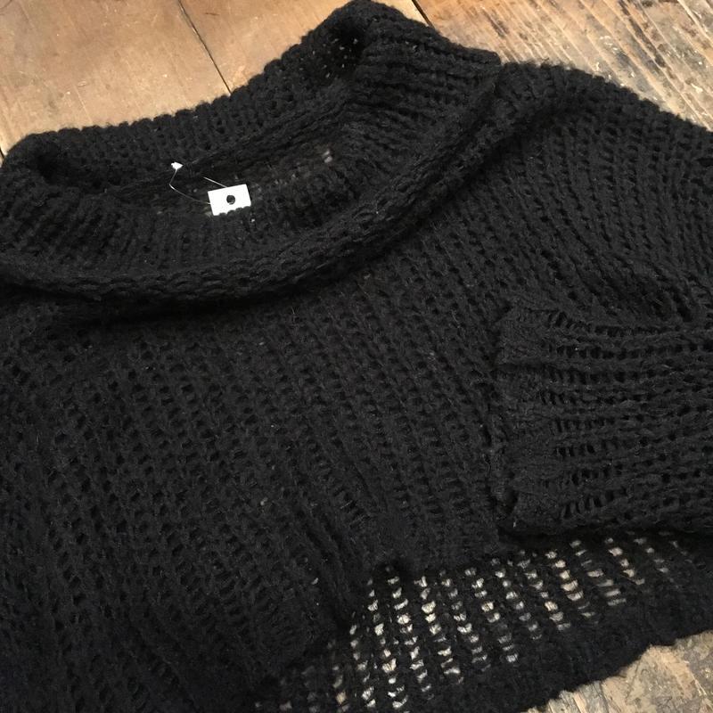 [USED] ふんわり透かし編み♡KNIT