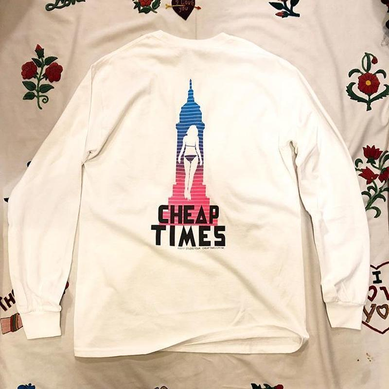 [CHEAP TIME$] ロンTee