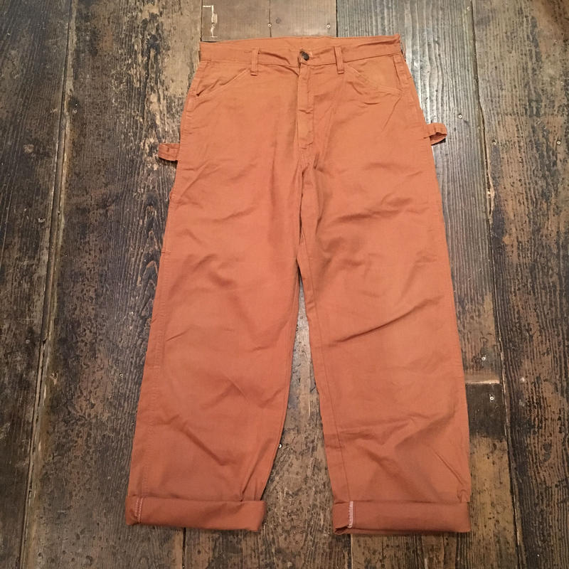 [USED] Old DEE CEEオレンジpainter pants