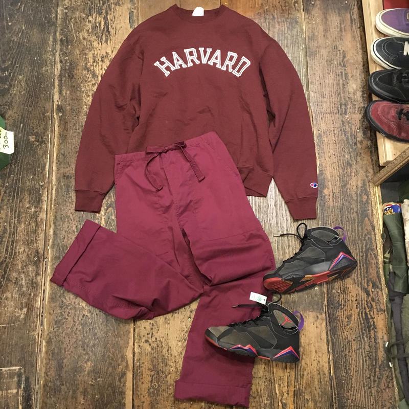 "[USED] Champion ""HARVARD"" SWEAT"