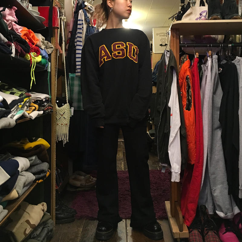 "[USED] Champion "" ASU "" LOGO SWEAT"