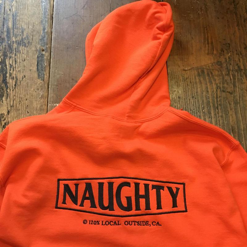 [Naughty] OUTSIDE P/O HOODIE