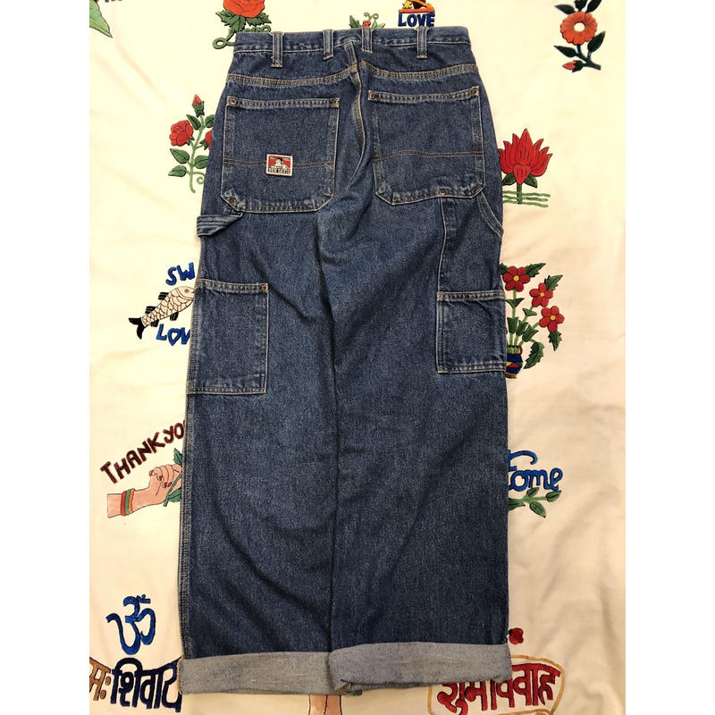"[USED] ""BEN DAVIS"" DENIM WORK PANTS"