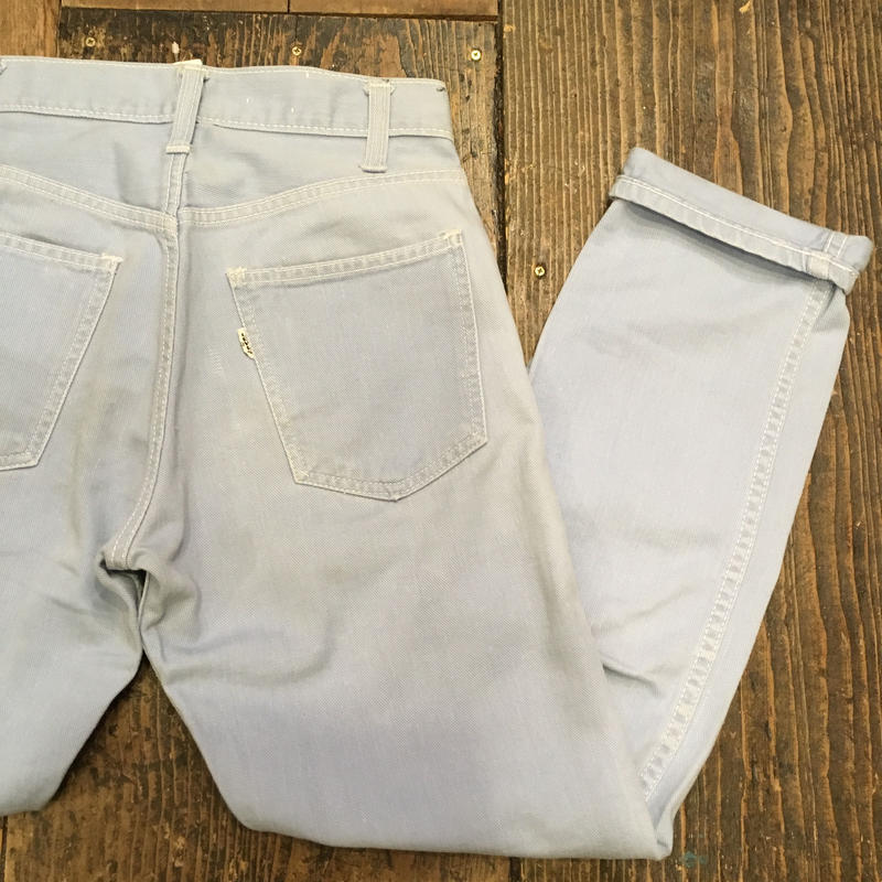 "[USED] VINTAGE Levi's BIG""E"" DRILL PANTS"