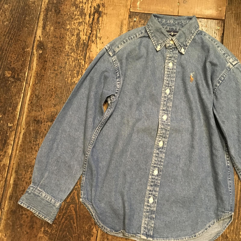 [USED] Ralph Lauren DENIM shirts
