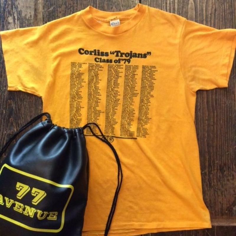 "[USED] Corliss ""Trojans""class of '79 Tシャツ"