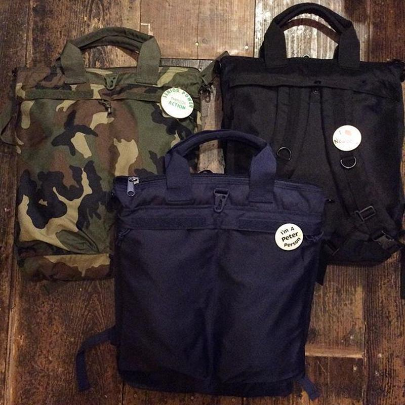 [SELECT] US ARMY ヘルメットBAG レプリカ