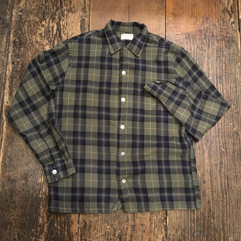 [USED]  vintage COTTON / WOOL SHIRTS