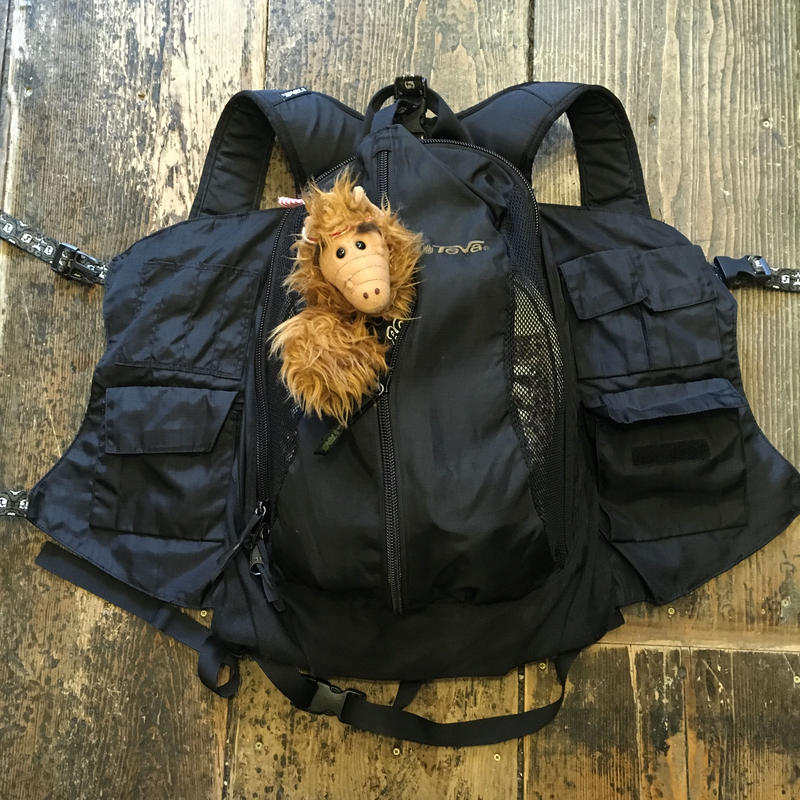 [USED]  珍品!00's OLD TEVA BACK PACK