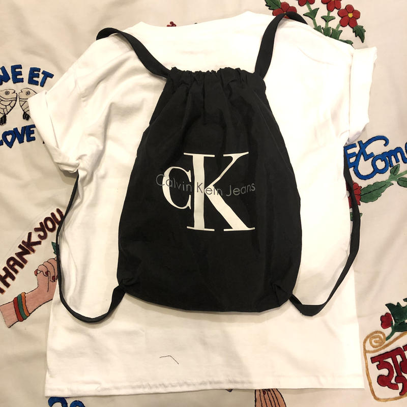 [USED] Calvin Klein ナップサック