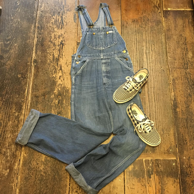 "[USED]  70's Vintage  ""Lee"" DENIM オーバーオール"