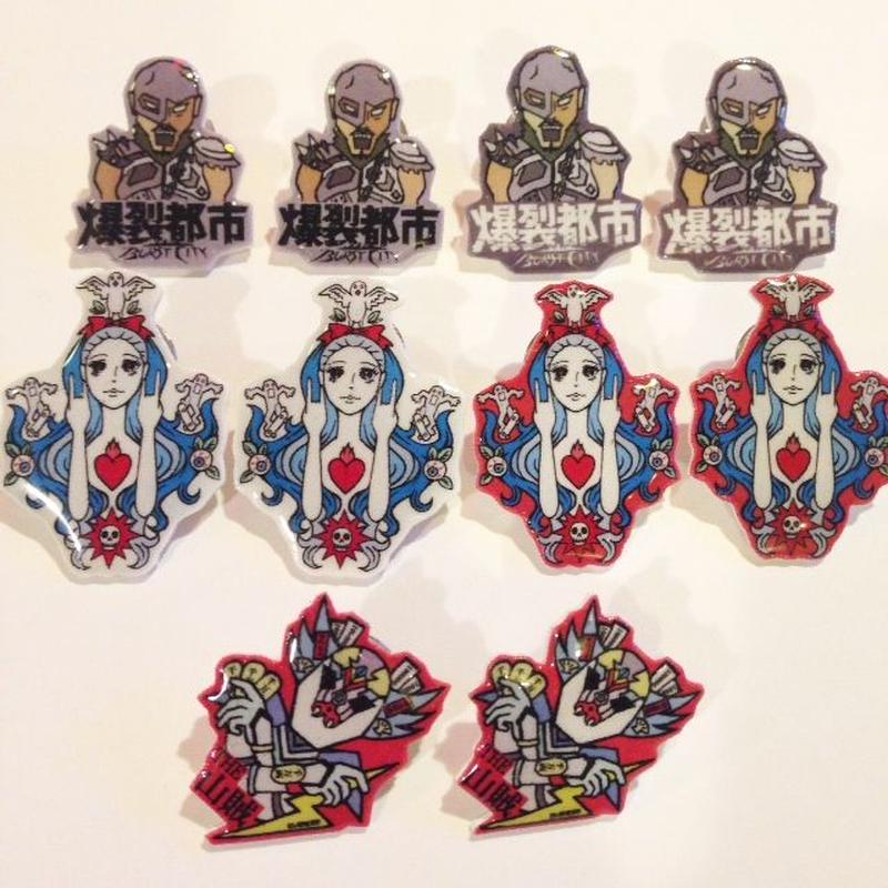 [BENICOTOY] 親子三代 PINS