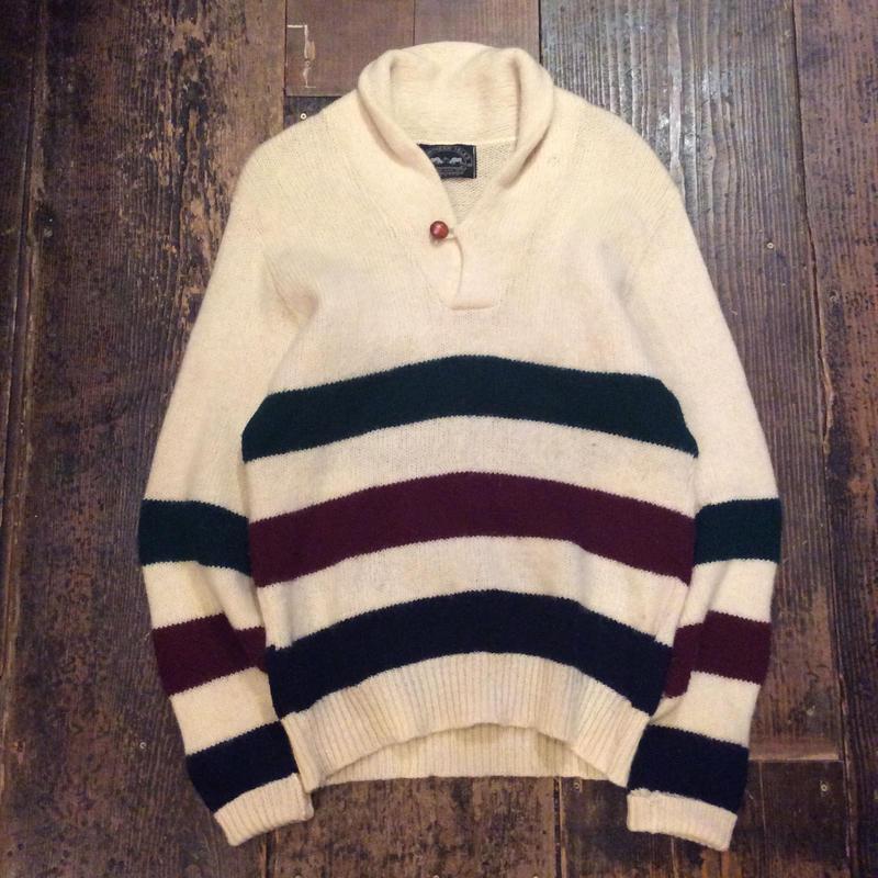 [USED] ショールカラーセーター