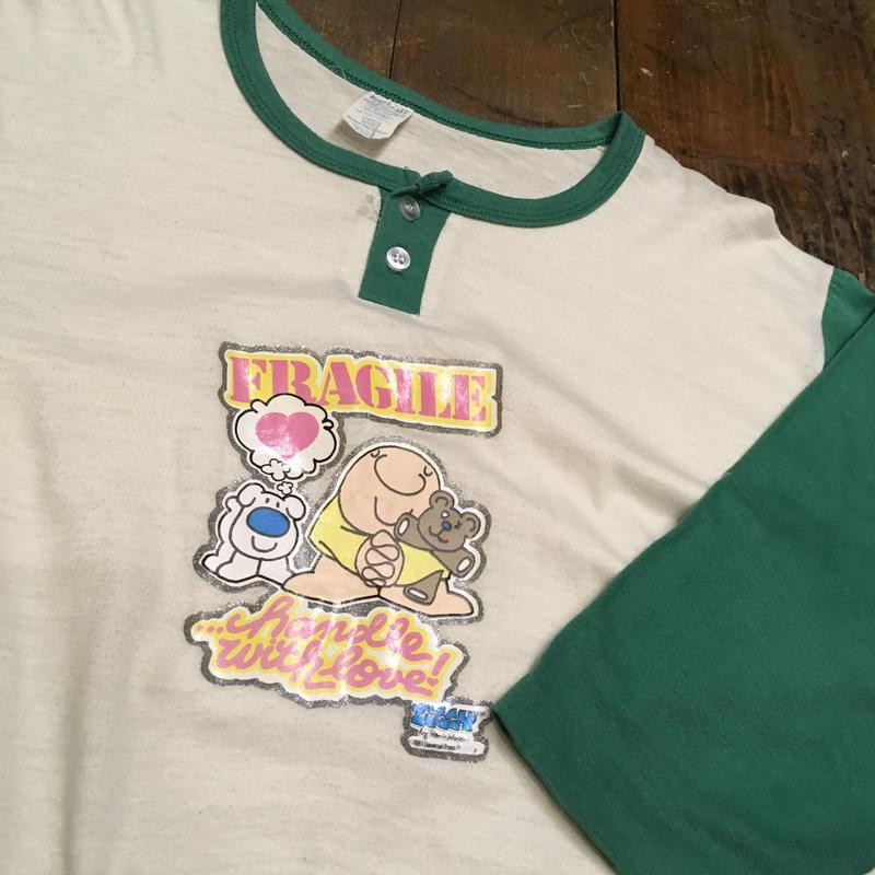 [USED] OLD baseball Tee♡ロングワンピ