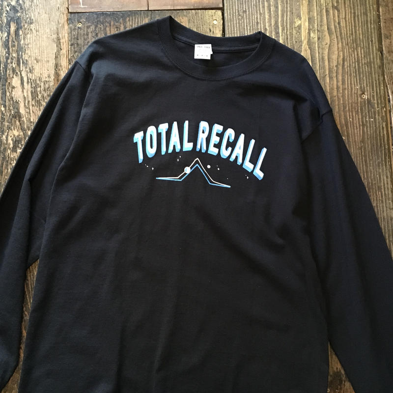 "[CHEAP TIME$]  ""TOTAL RECALL"" ロンTee"