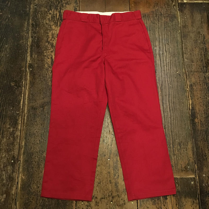 [USED] Dickies / col.RED w34