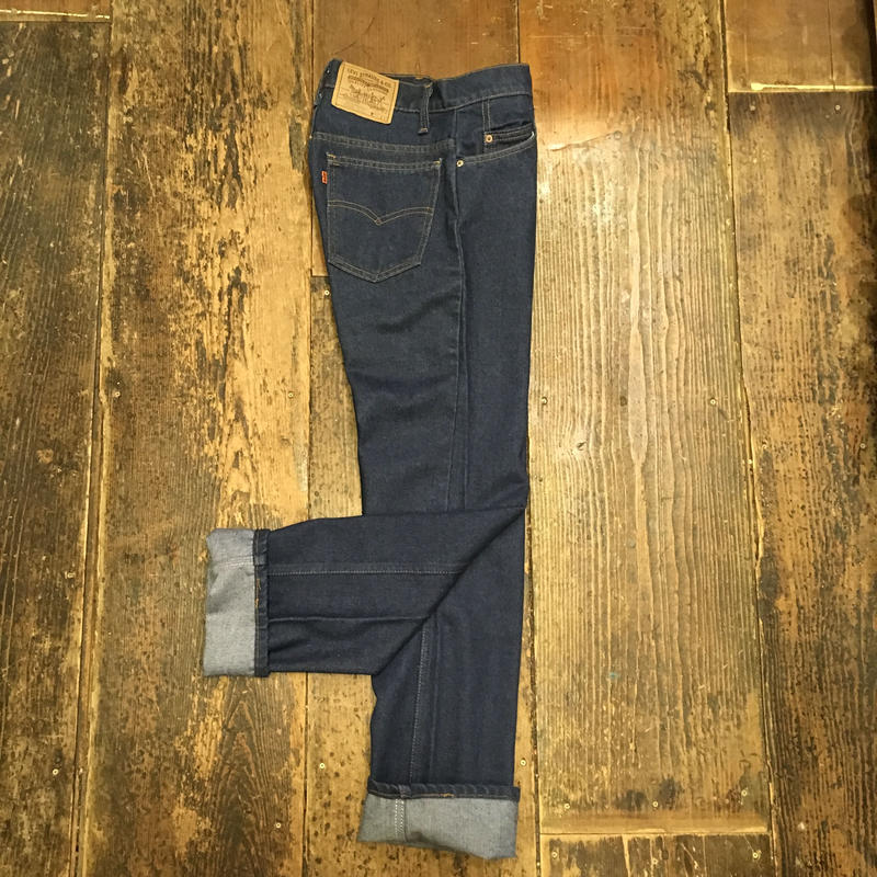 [USED] 80's Levis 20508  テーパード made in U.S.A.