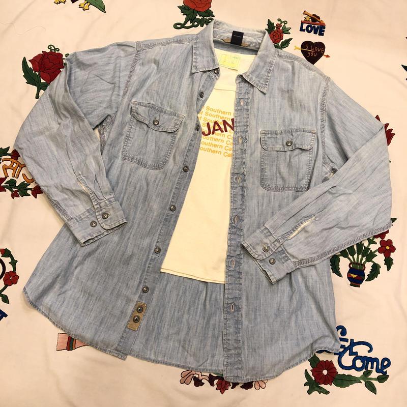 [USED]  GAP シャンブレーシャツ