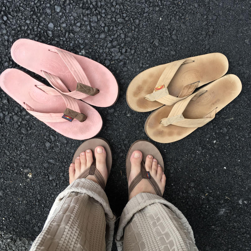 [USED]  RAINBOW SANDAL