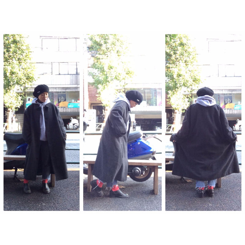 [USED] Calvin Klein オーバーサイズロングコート