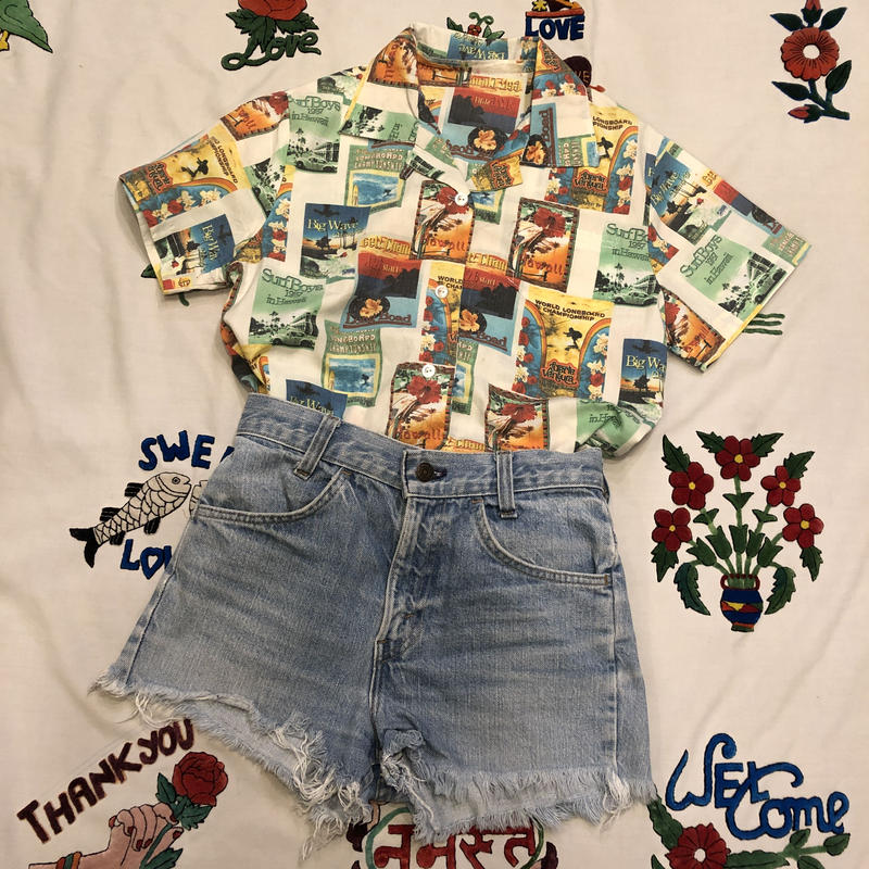 [USED] 70's Levi's DENIM SHORTS