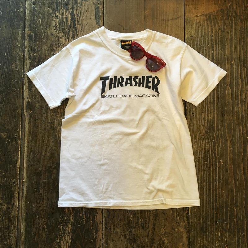 [USED] THRASHER LOGO-Tee