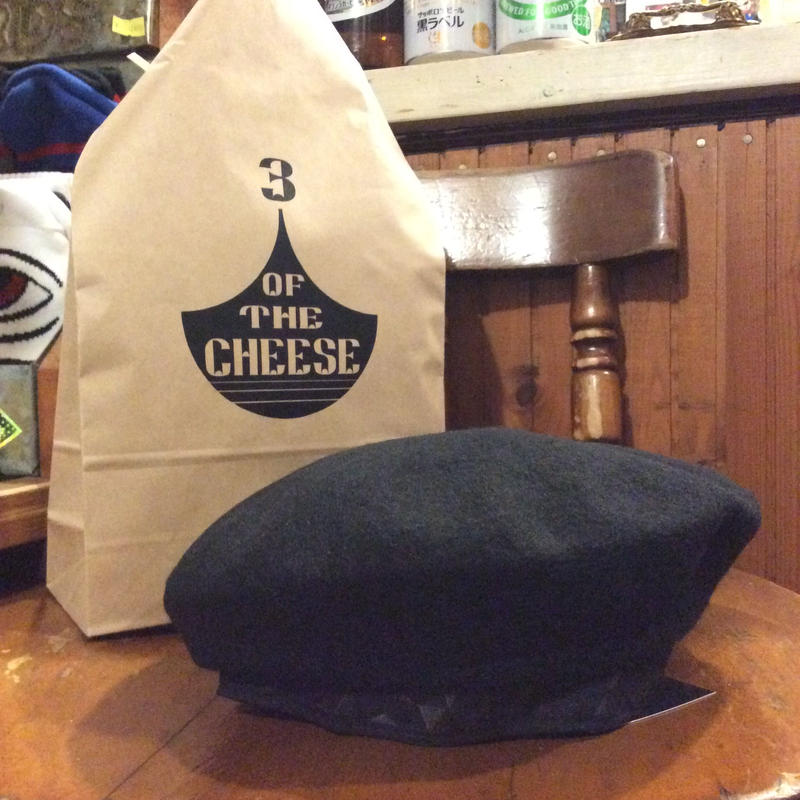 [3 OF THE CHEESE] 3 CAP / ベレー帽