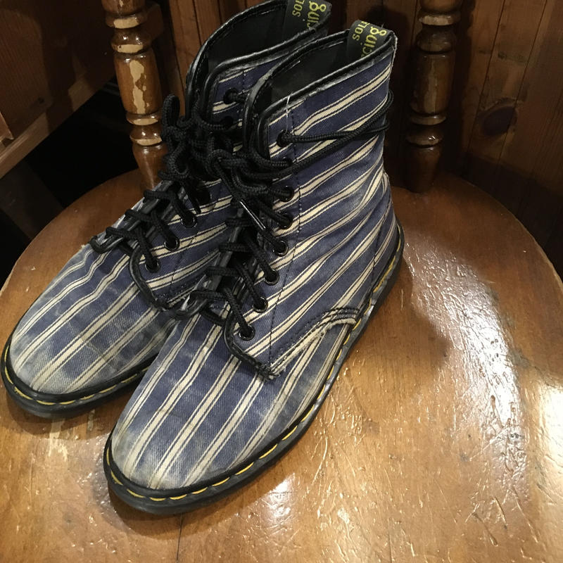 [USED] Dr.Martens 8HOLE DENIM!