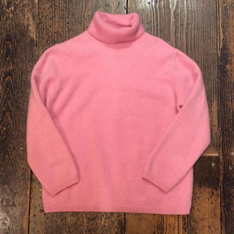 [USED] カシミアタートルネックセーター