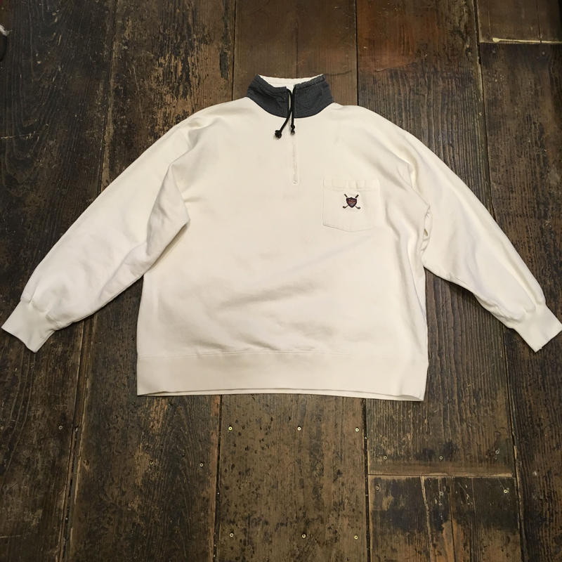 [USED] Ralph Lauren ポケット付 プルオーバーSWEAT