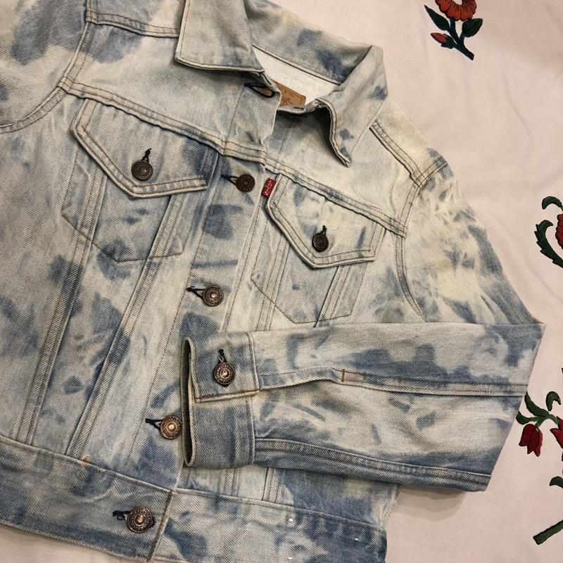 [USED]80's Levi's ブリーチデニム Lady's size