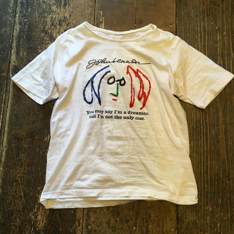 [USED] JOHN LENON プリントTシャツ