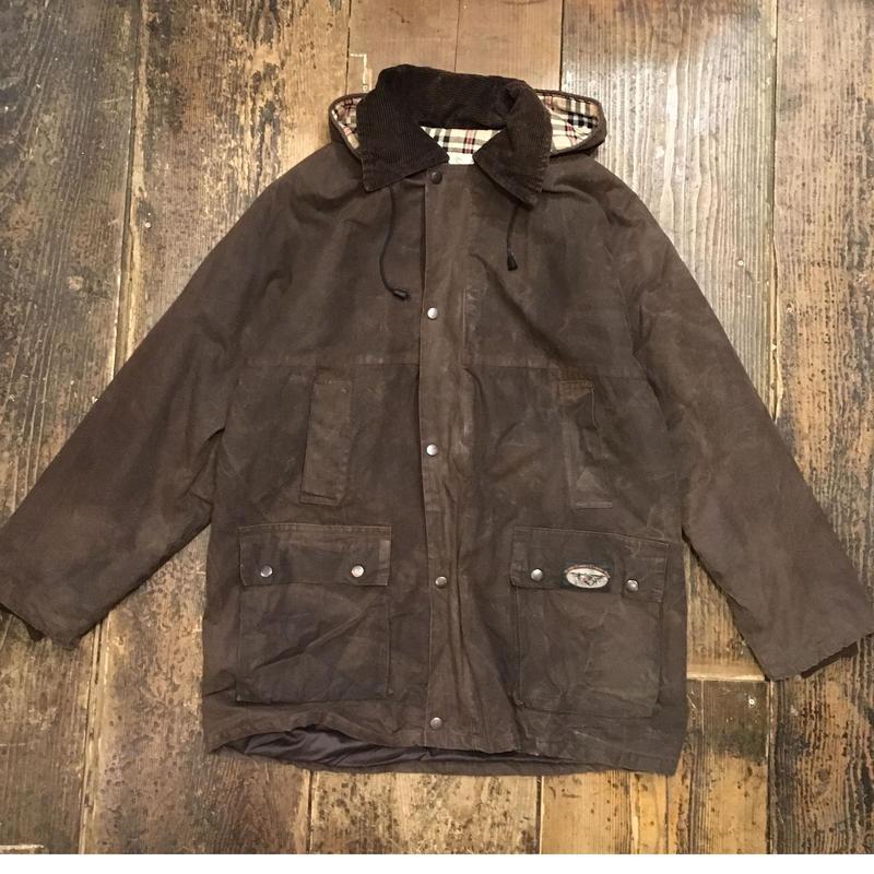 [USED] EURO 中綿入りオイルドジャケット