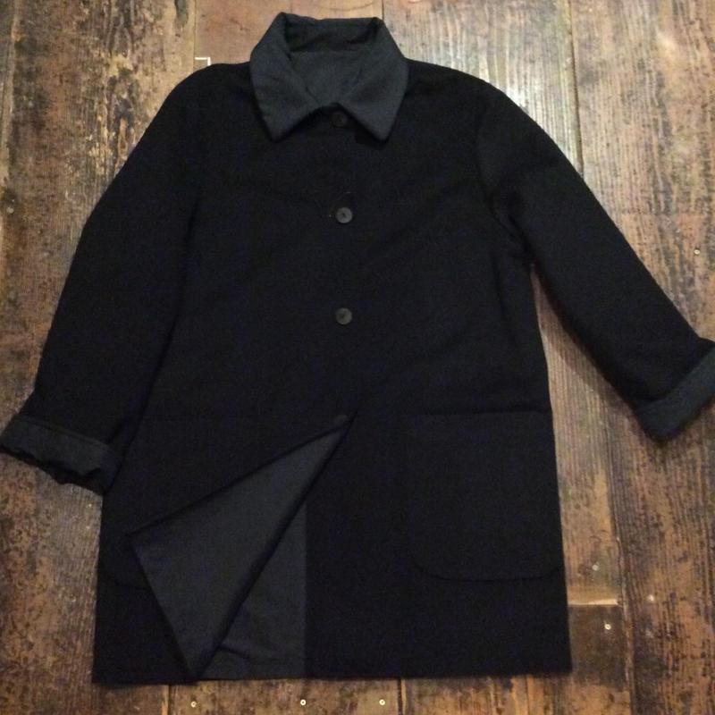 [USED] 黒のリバーシブルコート