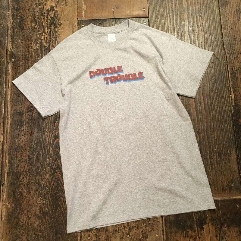 "[CHEAP TIME$] ""DOUBLE TROUBLE"" Tee"
