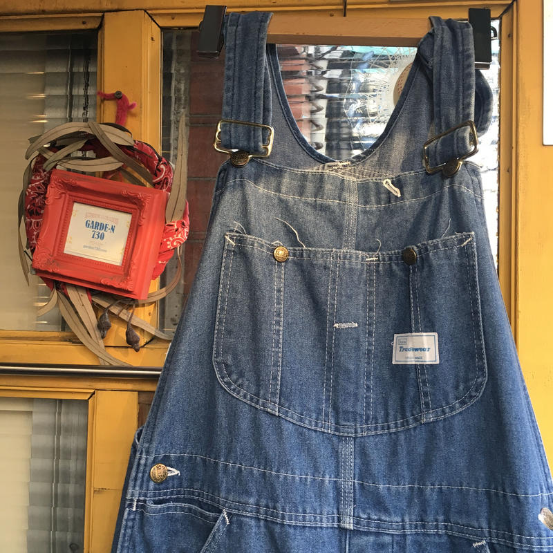 [USED] 80's SEARS DENIMオーバーオール