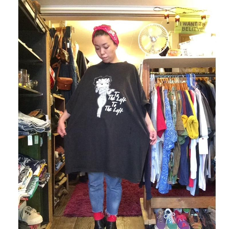 [USED] Betty Boop  プリントTee    3XL!!!