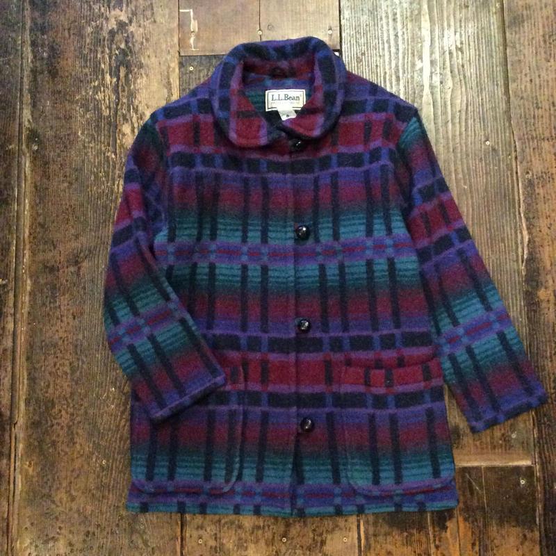 [USED] L.L Bean  wool JKT