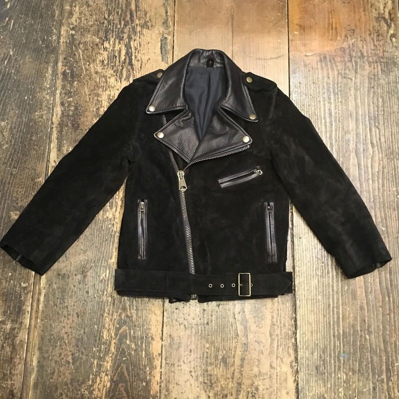 [USED] REAL SUEDE  ライダース JKT