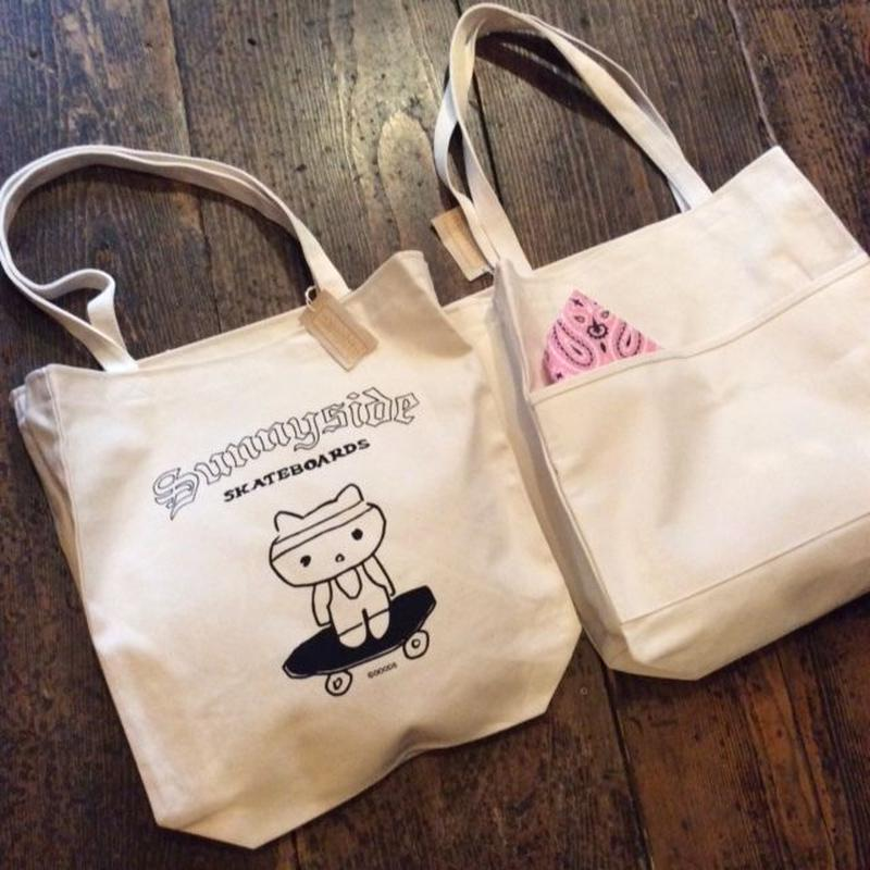 [Naughty] Naughty+DOODS  CANVAS TOTE BAG