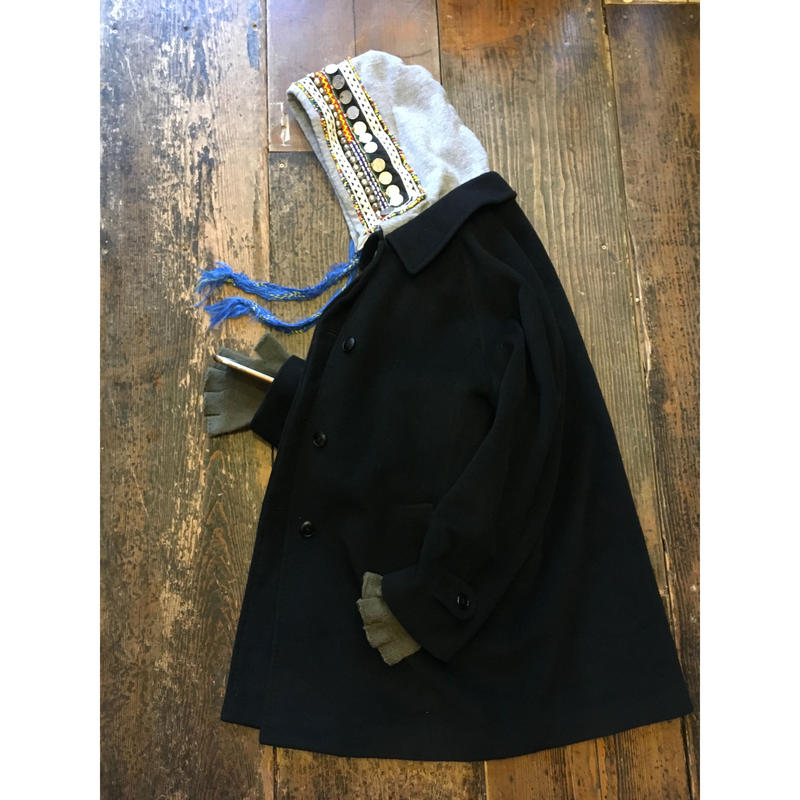 [USED] ANGOLA WOOL シンプル コート