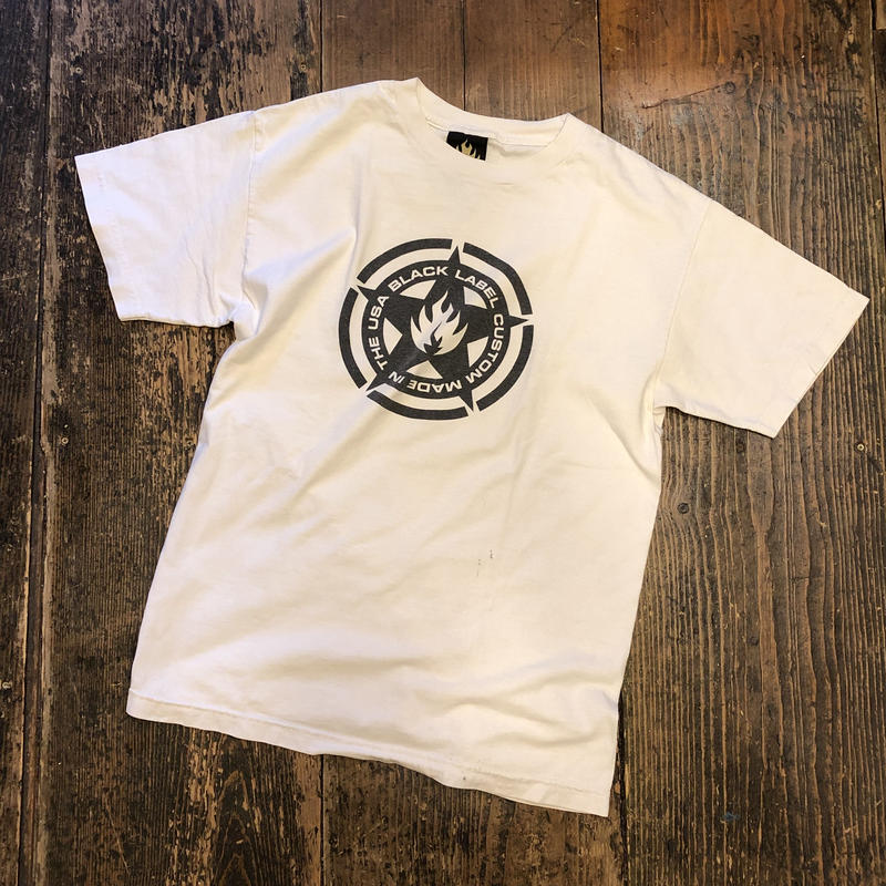 [USED] 90's BLACK LABEL SKATE BOARDS Tee