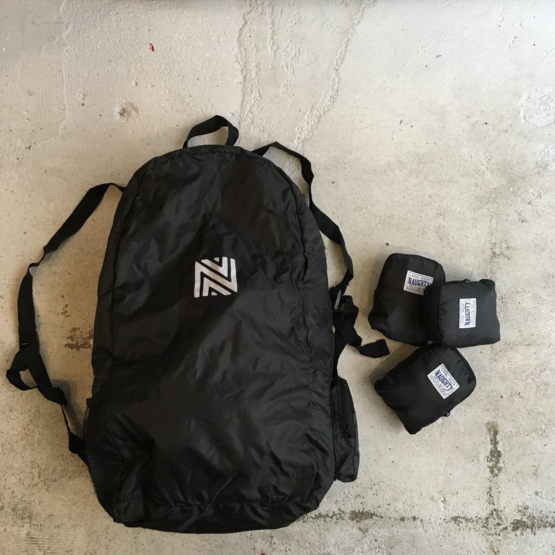 [Naughty]  OMPACT FOLDABLE BACKPACK