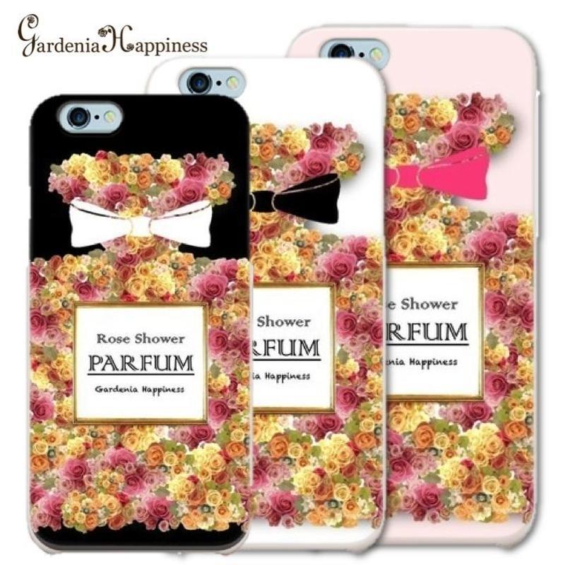 スマホケースAICA-36 ローズシャワーパルファン iPhone6Plus/6sPlus、Xperia Z5 Premium(SO-03H)